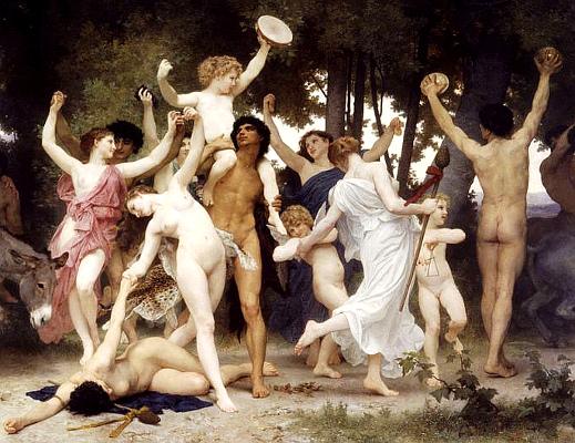WABouguereau1825-1905Bacchus